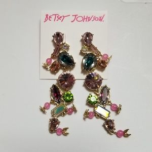 NWT Betsey Johnson dangling candy earings